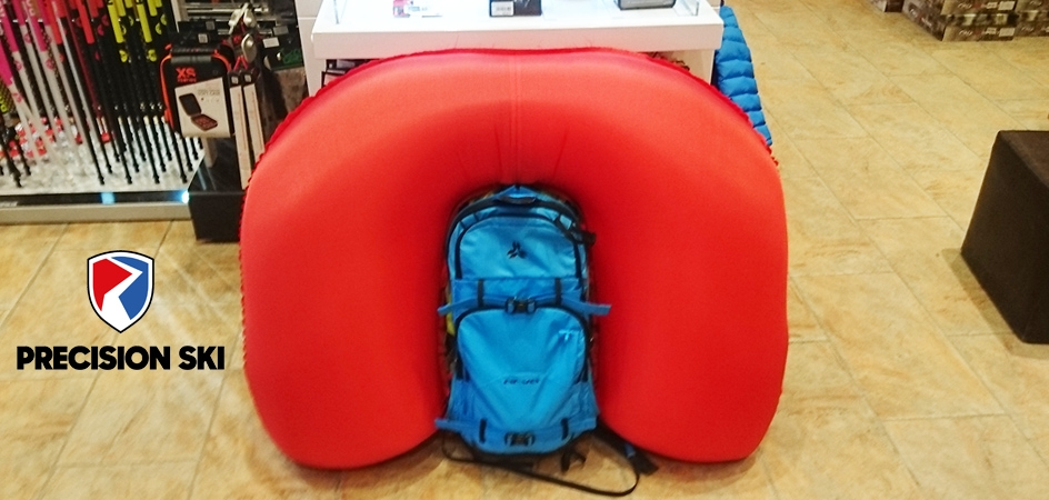 How does an airbag backpack work?