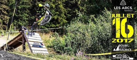 Arcadienne 2017: The downhill mountain bike race of Les Arcs