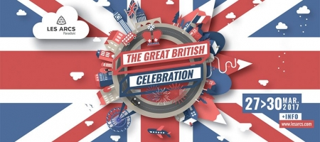 The Great British Celebration: the British week in Les Arcs