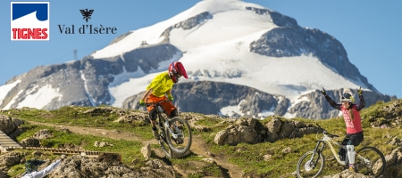 Zoom in on the Tignes - Val d'Isere Bike Park
