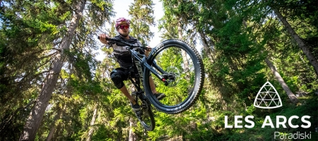 Zoom on Les Arcs Bike Park